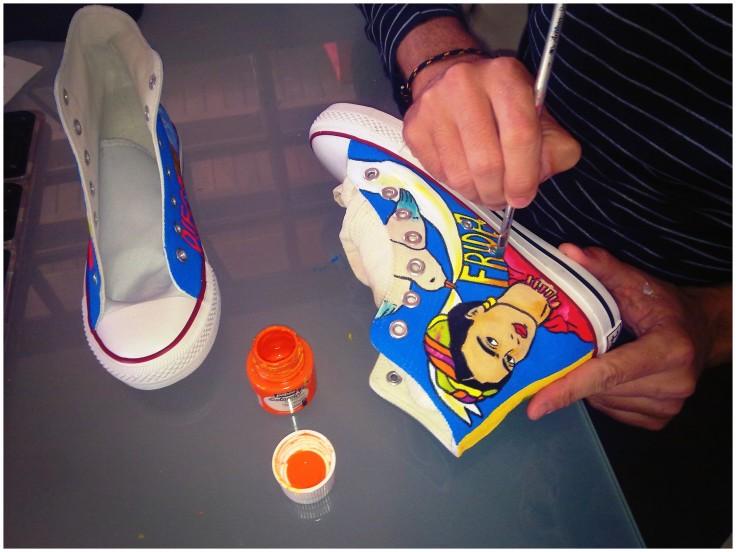Las Nanis de Nani, pintadas a mano a fuego lento