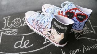 Las Nanis de Nani de Katy Perry Converse 11