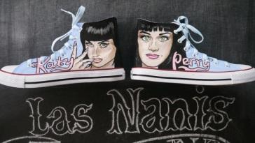 Las Nanis de Nani de Katy Perry Converse 7