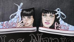 Las Nanis de Nani de Katy Perry Converse 9