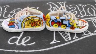 Las Nanis de Nani las zapatillas de Carlota directora de Sálvame