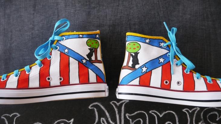 Las Nanis de Nani zapatillas del Atleti