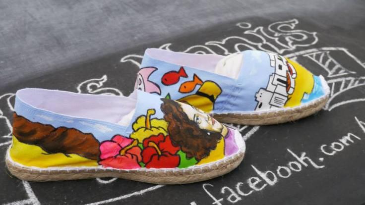 Alpargatas de las Nanis personalizadas de Lanzarote